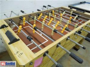 USGovBid - Premier soccer foosball table